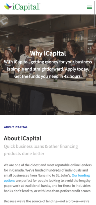 Why iCapital - Mobile